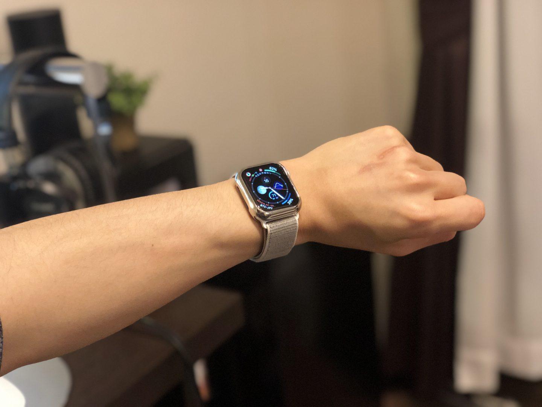 Apple Watchの装着